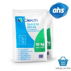 Tabletki-Sól do uzdatniania wody_worek 25 kg